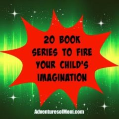 Book series that will fire your child's imagination