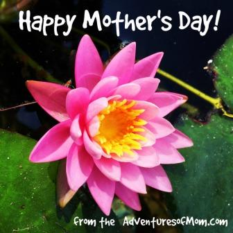 Enjoy your day, you deserve it! Wishing you a Happy Mother's Day!