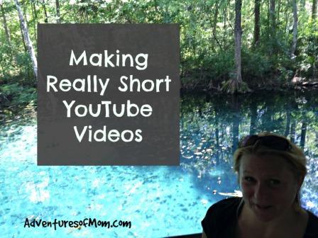 Making short YouTube Videos