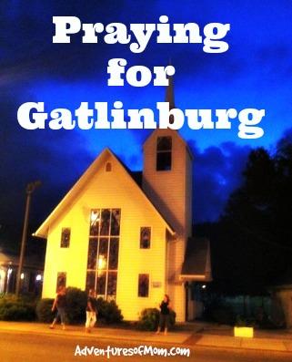 This historic wedding chapel burnt to the ground. #PrayingforGatlinburg