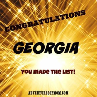 Georgia makes top Travel destination list