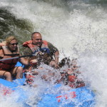 Whitewater rafting with kids, who knew?