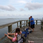 Catching catfish in Apalachicola