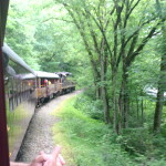 Riding the Great Smiokey Mountain Railroad