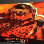 Journey to Mars exhibit at Kennedy Space Center