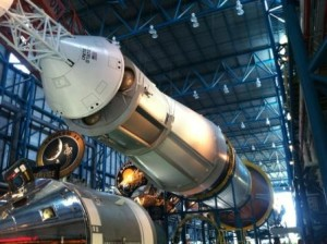 Saturn V at Kennedy Space Center, Florida