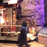 Bear spotted in the Smokies! This one's at the Lumberjack Feud in Pigeon Forge!