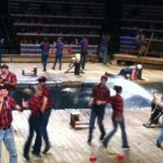 The Lumberjack Feud is a must-see family friendly dinner show in Pigeon Forge.