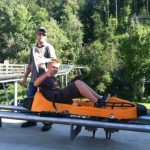 Teen approved adventure: the mile+ ride at Smoky Mountain Alpine Coaster in Pigeon Forge