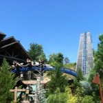 Soar the skies on the Wild Eagle at Dollywood in Pigeon Forge