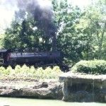 We rode the rails at Dollywood in Pigeon Forge, TN