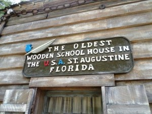 Oldest Wooden School house, St. Augustine, FL