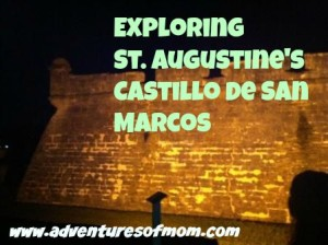 exploring the Castillo de San Marcos in St. Augustine