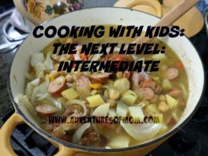 Garbanzo Bean Soup! Cooking with Kids: Taking it to the Next Level.