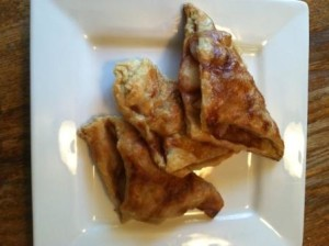 Pear Tarts: wrap the cooked pear mixture in puff pastry & bake
