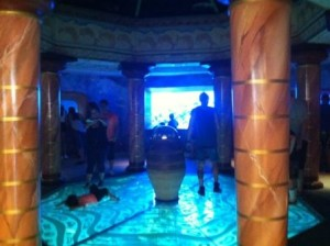 Inside Atlantis at Seaworld