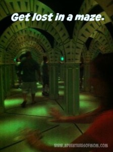 Odyssey Maze at the Magi Quest in Pigeon Forge