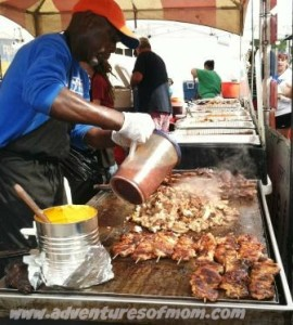 BBQ at Gainesville Arts Festival
