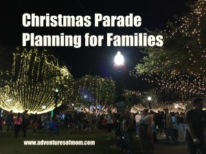 Get the most out of your Christmas Parade evening with a little planning.