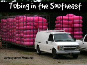 Tubing in the Southeastern USA