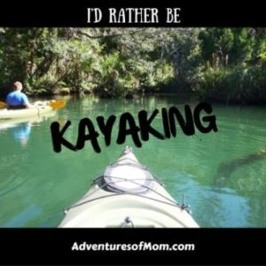 This year I found a new hobby: kayaking!